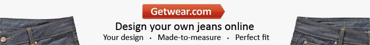 getwear custom jeans