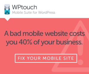 A bad mobile website costs you 40% of your business - fix your WordPress website today!