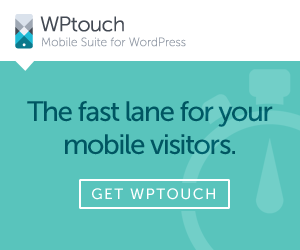 WPtouch Pro - the fast lane for your mobile visitors. Get it today.