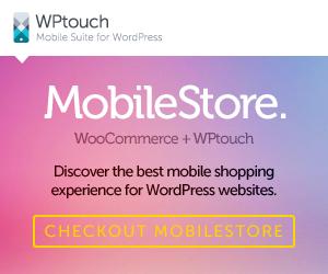 WPtouch Pro MobileStore