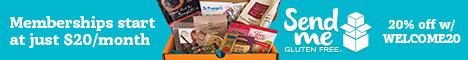 Send Me Gluten Free: Gluten Free Subscription Box