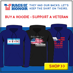 Buy a hoodie, support a veteran.