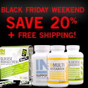 Black Friday Weekend Special: Save 20% + get free shipping