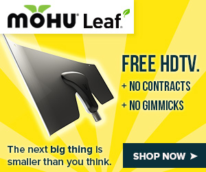 Free HDTV + No Contracts + No Gimmicks