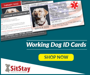 Working Dog ID Cards