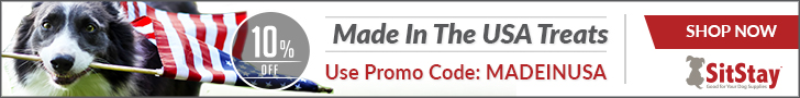 Save 10% on our Made in the USA Treats with the MADEINUSA Promo Code