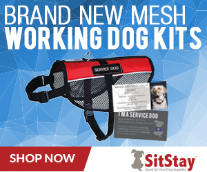 SitStay Mesh Working Dog Kits