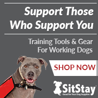 Working Dog Gear at SitStay.com
