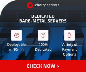 Dedicated Bare Metal Servers