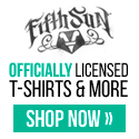 Officially Licensed T-shirts at ww.Fifthsun.com