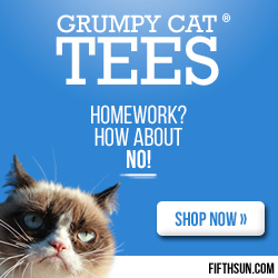 Grumpy Cat Seasonal T-Shirts
