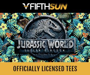 Shop apparel for 'Jurassic World: Fallen Kingdom' at FifthSun.com.
