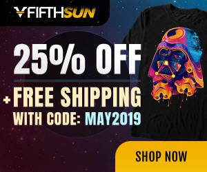 Save 25% off sitewide & free shipping with coupon code: MAY2019.