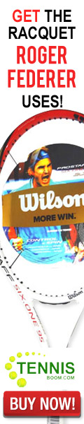 Play like a Pro! Get the racquet US Open contender Roger Federer uses! The Wilson Pro Staff Six.One 95 BLX - only $199!
