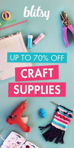 70% off craft supplies!