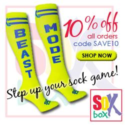 Save 10% at the Sox Box, Code SAVE10