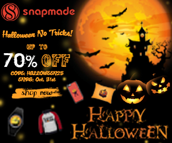 Snapmade 2016 Halloween Sale - up to 70% OFF - 336*280