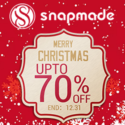 Snapmade 2016 Christmas Sales up to 70% OFF - 250*250