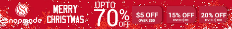 Snapmade 2016 Christmas Sales up to 70% OFF - 468*60