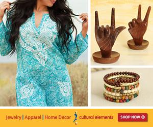 Cultural Elements Fair Trade Decor
