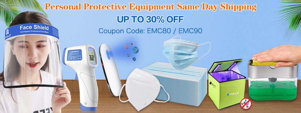 Face Shield,Disinfector,Protect Case, Sterilizers, Soap Dispenser ,  Infra-red Thermoscope