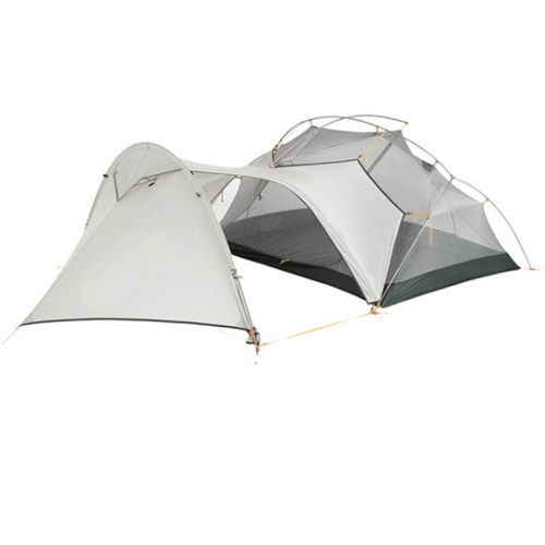 Double Tent , Outdoor Mountaineering Camping Tent , Double-layer Rainstorm-proof Three-season Aluminum Pole Tent