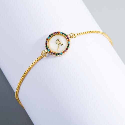 Letter Bracelet, Rainbow Bracelet,DIY Bracelet