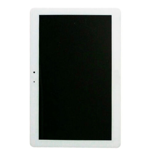 Original LCD Screen Display + Touch Screen Digitizer Assembly for Samsung Galaxy Tab 3 10.1 / P5200(White)