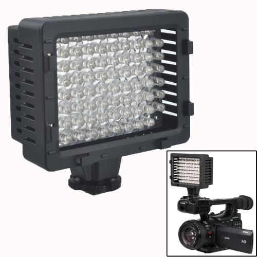 76-LED Video Light with 2 Filters for Camera / Video