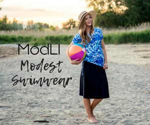 Modli modest swimwear