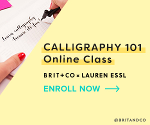 Feel The Learn: Cool As Heck Creative Online Classes At Brit + Co 5