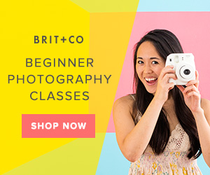 Feel The Learn: Cool As Heck Creative Online Classes At Brit + Co 1