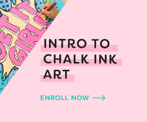 Intro To Chalk Ink Art Online Class