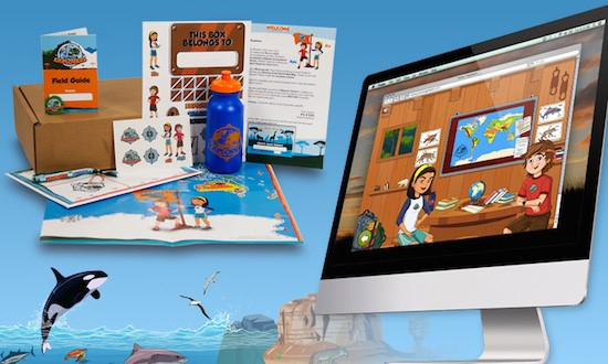 Junior Explorers is a fun and educational monthly subscription program for elementary aged kids, which teaches them all about wildlife and nature!