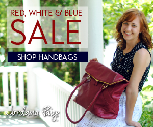 40% Off Red, White & Blue Bags