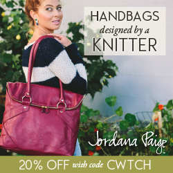 Handbags Designed by a Knitter. Shop now.