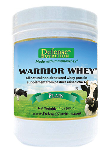 Warrior Whey - High Quality Pasture Raised, Grass Fed Whey Protein Powder