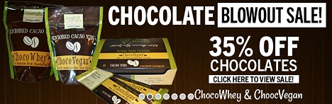 Chocolate blowout sale - 35% off from Defense Nutrition