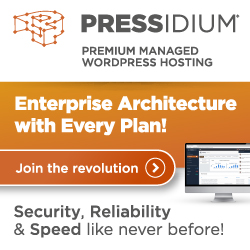 Pressidium® Managed WordPress Hosting
