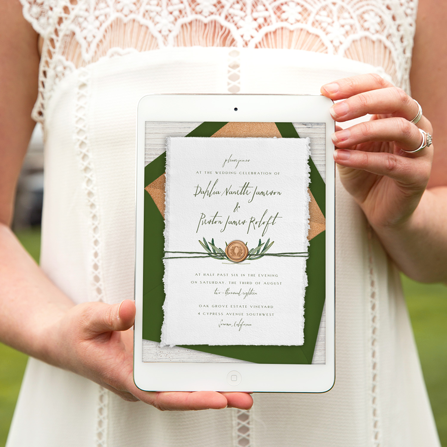 Paperless Ecofriendly Online Invitations from Greenvelope.com