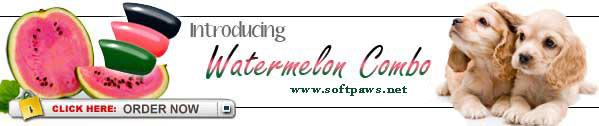 Watermelon SoftPaws.com