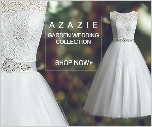 Shop the Azazie Garden Wedding Collection for the perfect size and style dress for your wedding