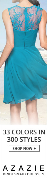 Shop bridesmaid dresses in more than 30 colors and 300 styles starting at $79 at Azazie.com