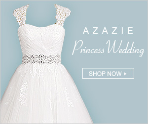 Wedding dresses fit for a princess from $149 in any size and style at Azazie.com