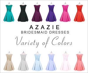 Shop more than 33 colors of bridesmaid dresses at Azazie.com