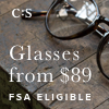 FSA Eligible Glasses Starting at $89