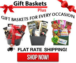 Gift Baskets for every occasion! Flat Rate Shipping.