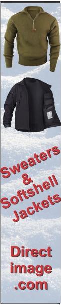 Sweaters & Softshell Jackets