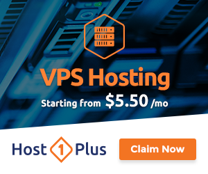 VPS Servers by Host1Plus