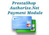 Prestashop - Authorize.Net Payment Module